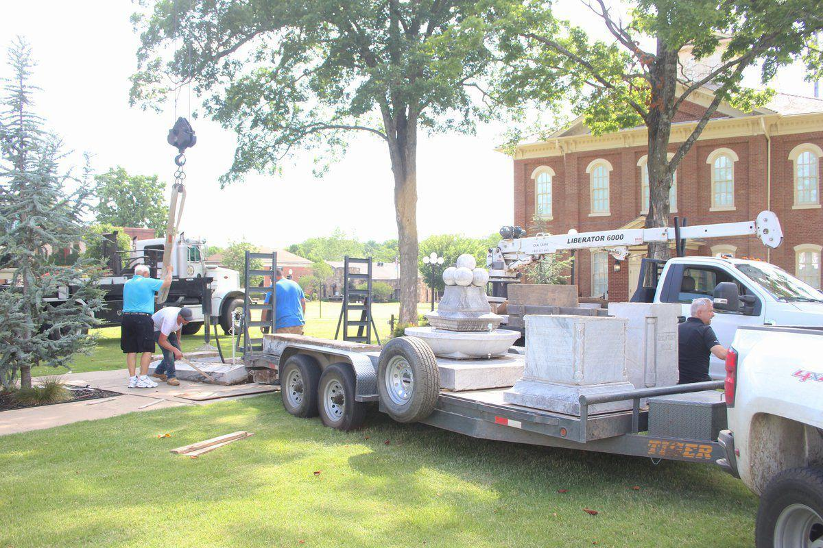 Cherokee Nation's removal of monuments from historic Capitol Square stirs controversy