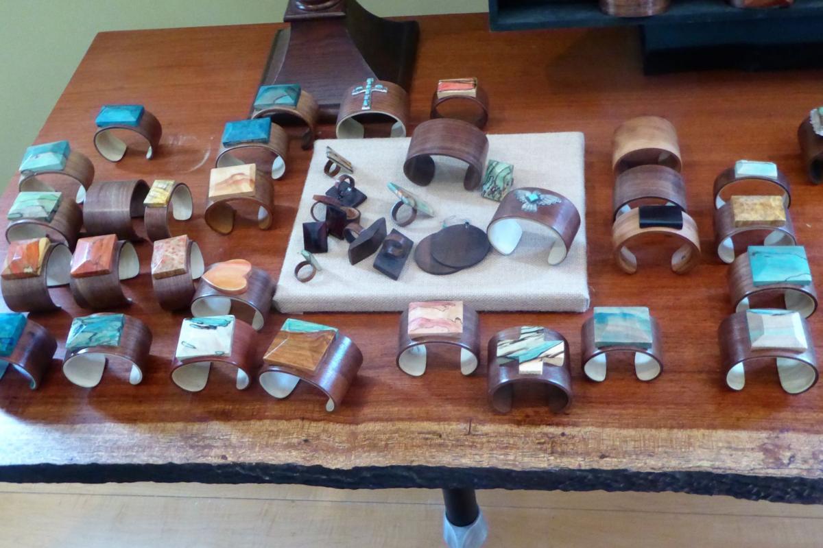 Bent-wood bracelets