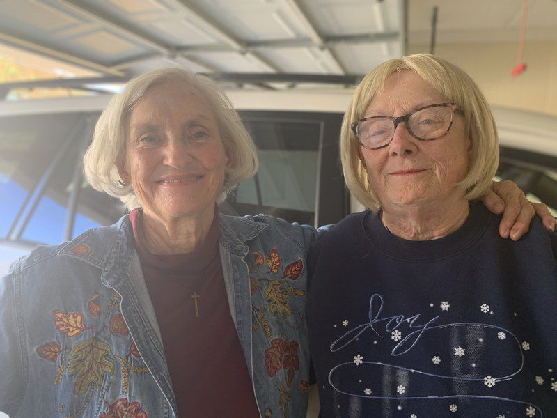 OUR VOLUNTEERS Love on wheels: Two women share food and friendship with Meridian