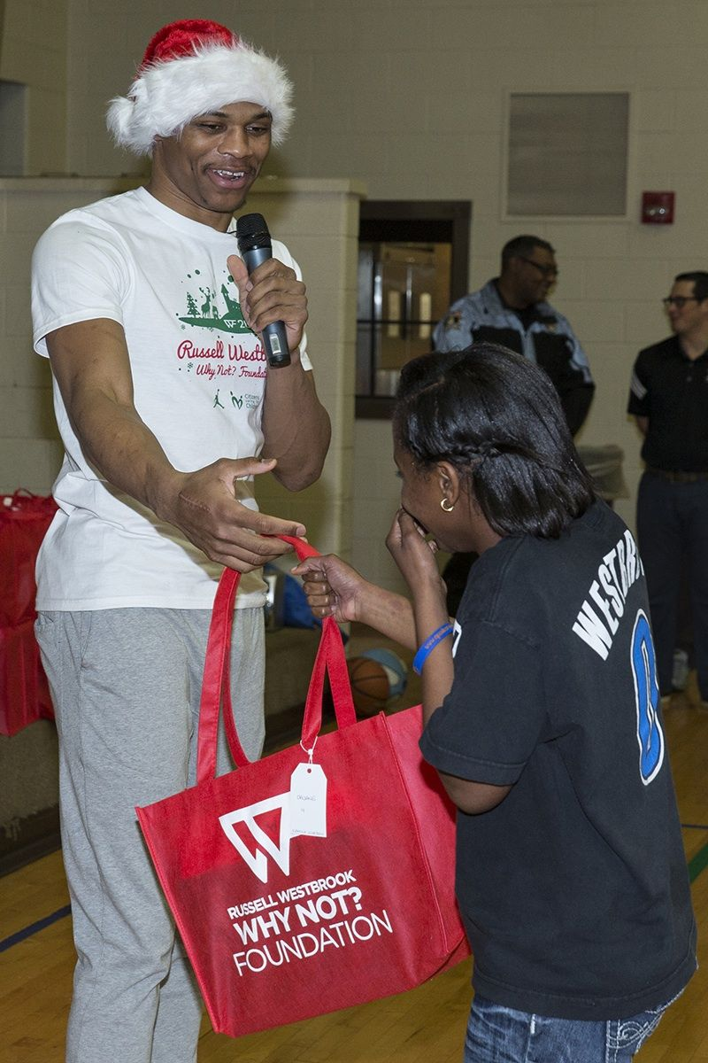 Russell Westbrook Christmas Party