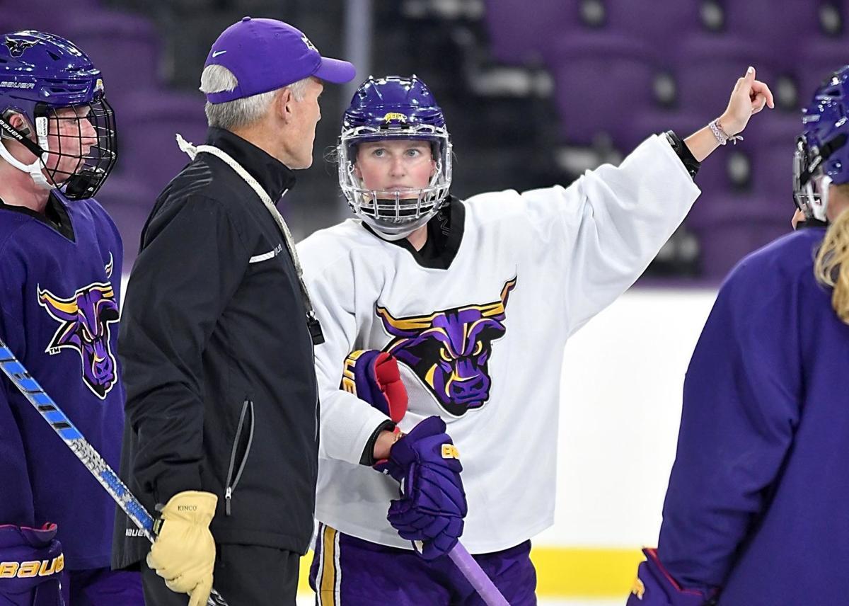 MSU women's hockey Emily Antony 2