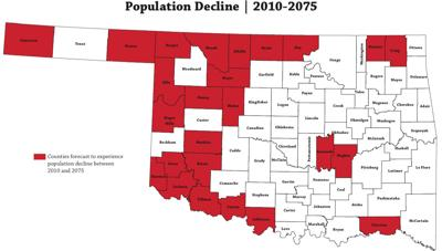 Counties considered Rural Opportunity Zones