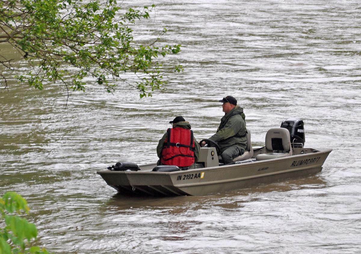 Search for boy, swept away by flood waters
