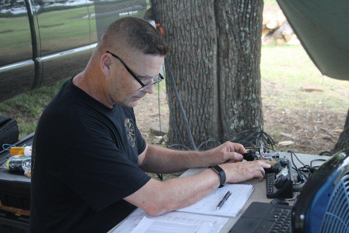 Radio operators ham it up with contacts everywhere