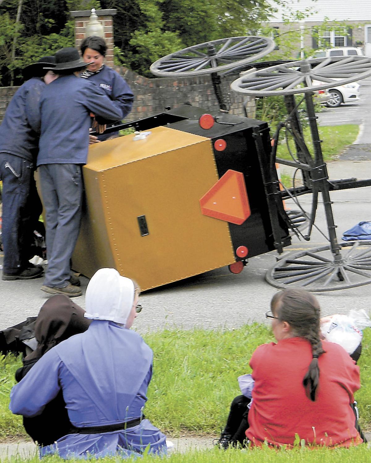 Amish Woman, Children Injured In Pennsylvania Car-buggy