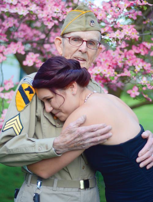 Korean War veteran escorts Pennsylvania teen to prom