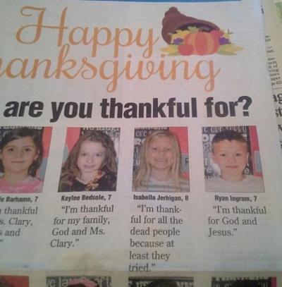 Thankful answer