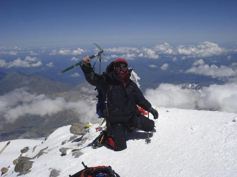 Peak condition: Meridian man plans spring ascent of Everest