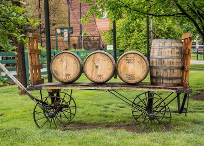 Barrel Wagon at Buffalo Trace Distillery