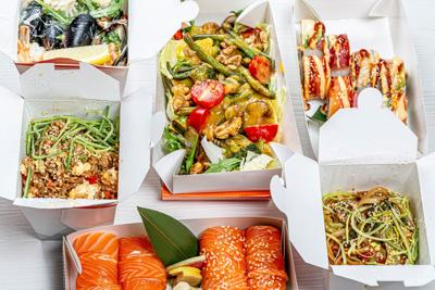 Restaurant take out food delivery