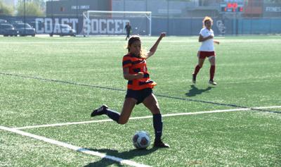 Women's soccer ties