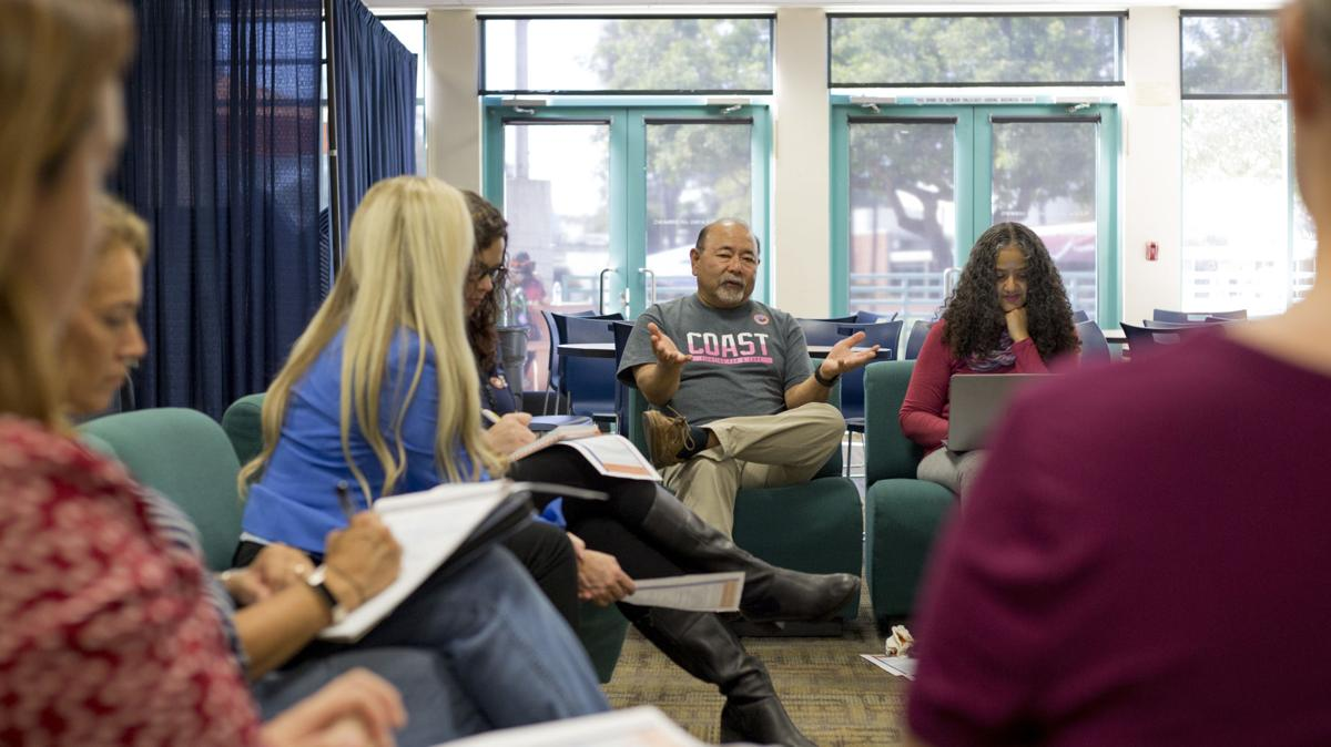Listening sessions open discussions for new president