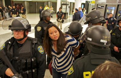 Reporter arrested