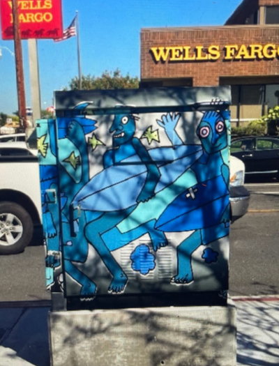 Costa Mesa uses utility boxes as canvases for local artists