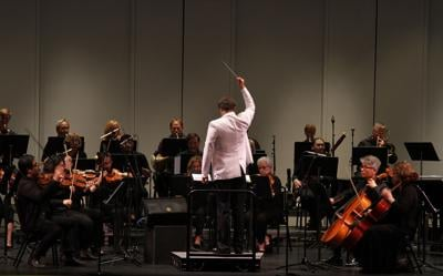 Music lost in symphony concert