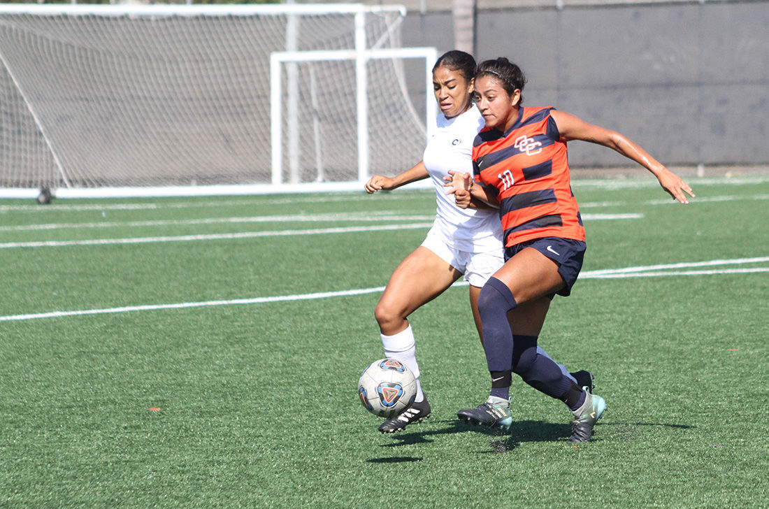 Women's soccer loses hand-ily - Photo 2