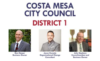 Costa Mesa City Council District 1