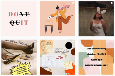 Fashion Clubs Instagram