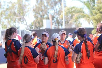 Softball slides into top-10 standings