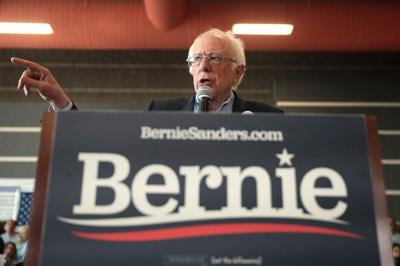 Bernie strikes gold in the Silver State