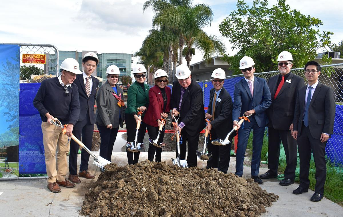 Campus breaks ground on its newest building - Photo 1