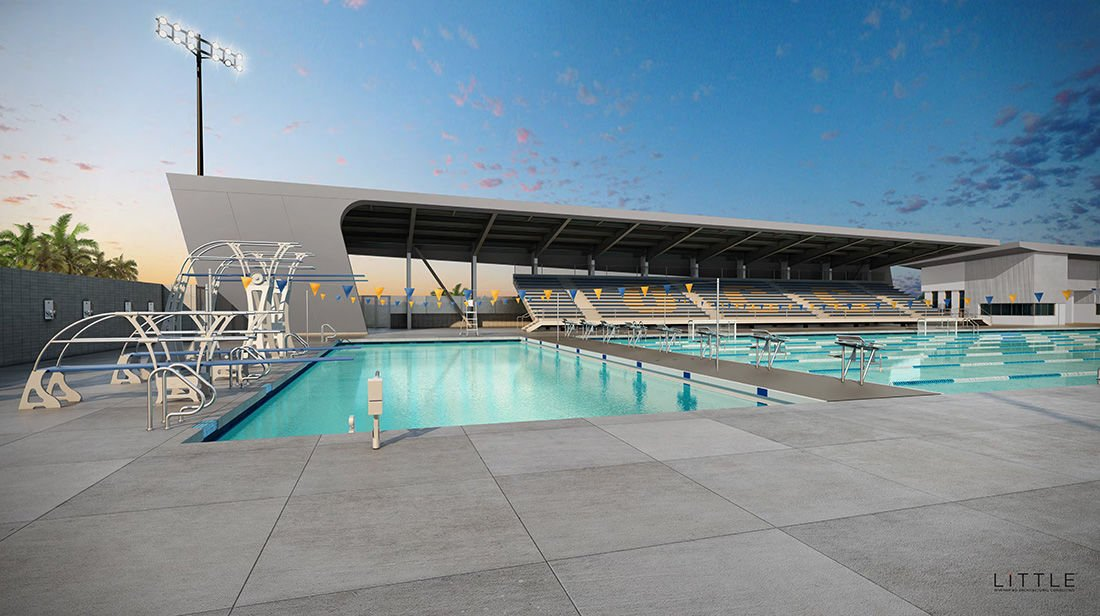 Construction set to start on new aquatic center - New pool