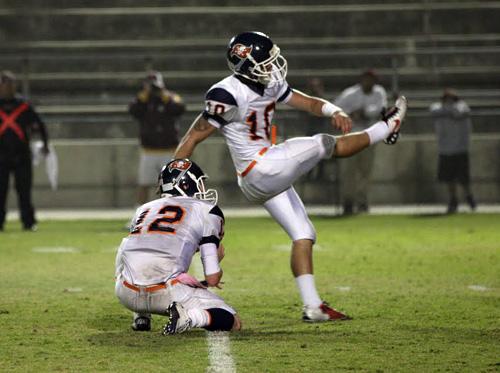 Freshman kicking into high gear