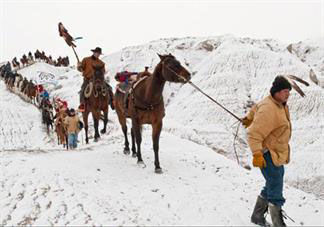 300 Miles' for the Lakota tribe | Arts And Culture