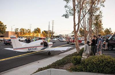 OCC plane lands on local road