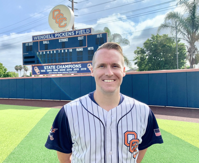 Newly hired OCC baseball coach prepares his team to return to action