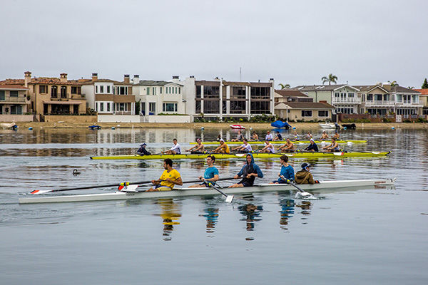 Rowing giants