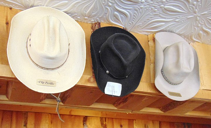 70e99e547a5ce Hang your hat on it  Cowboy hats come in all shapes