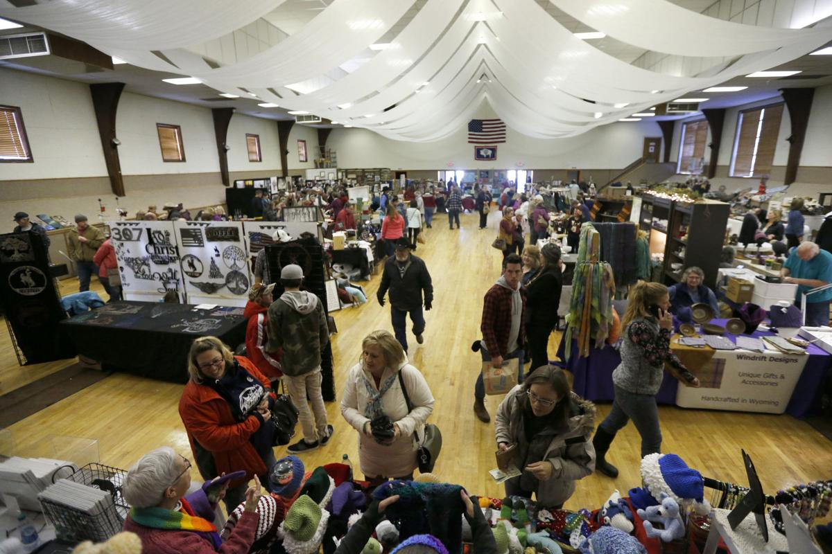 Holiday Bazaar offers dozens booths filled with local goods