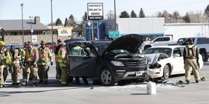 BREAKING: Two-vehicle crash on Sheridan