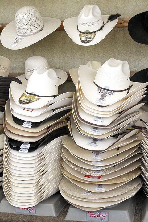 f4fb297131b Hang your hat on it  Cowboy hats come in all shapes