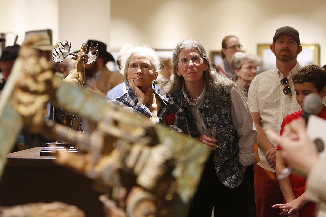 Buffalo Bill Art Show and Sale opening reception