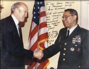 Sen. Simpson recalls the late Colin Powell