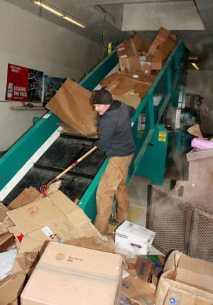 Recycling Center reopens with new baler