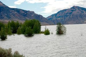 Buffalo Bill releases more water after reaching capacity