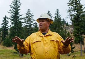 Fishhawk Fire: Work to halt fires continues