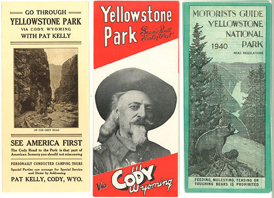 historic Yellowstone posters