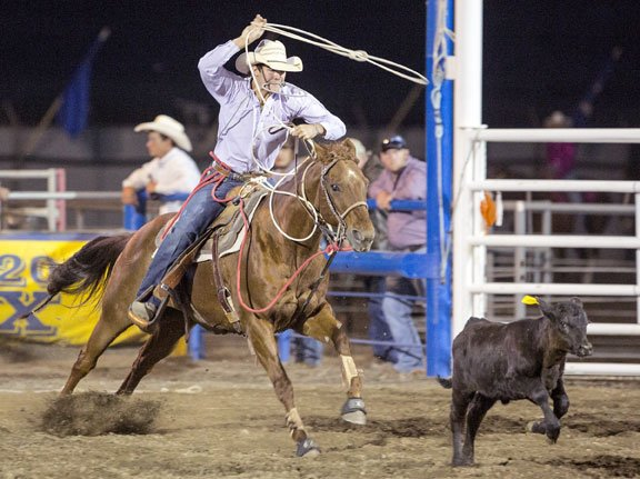 Rodeo Team Cody Competes Breding Reaume Happy To Ride At Home
