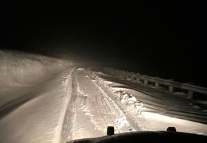 Driver freed from Beartooth Highway