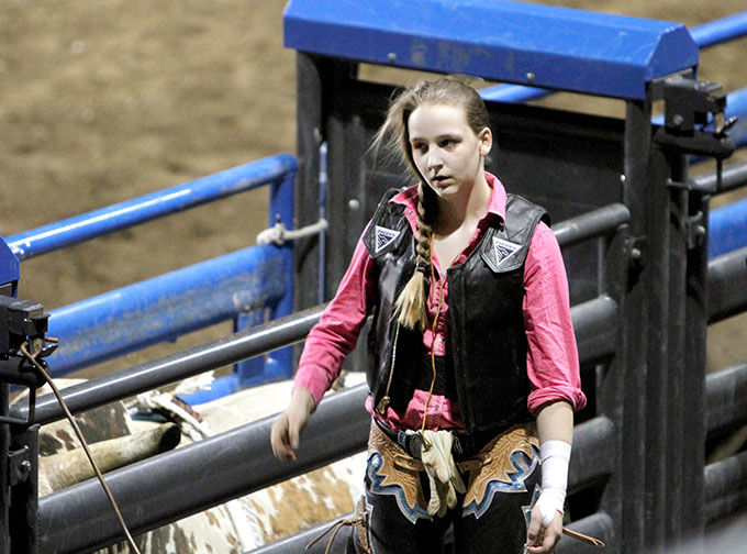 Column Hazen Making Her Mark In Bull Riding Sports
