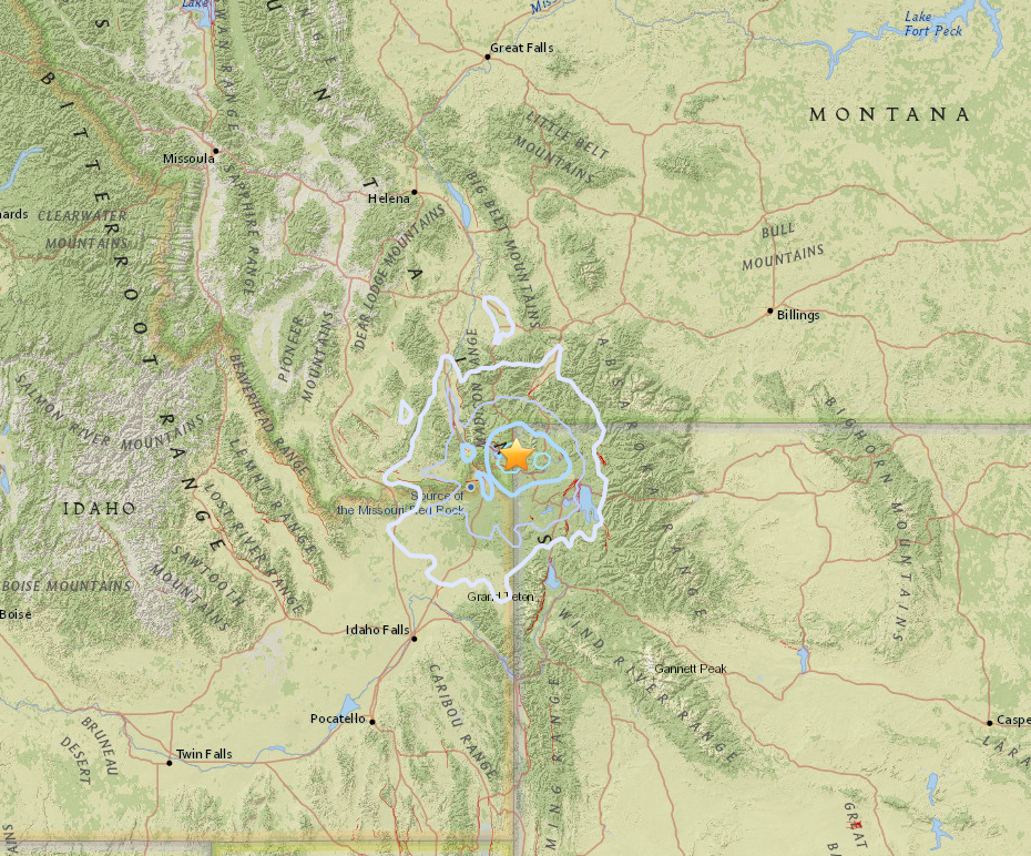 Earthquake and aftershocks rattle West Yellowstone area  Local