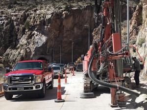 Expect delays during road work near tunnels on U.S. 14/16/20