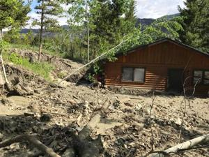 Mudslides: Work on temporary fix could start July 5