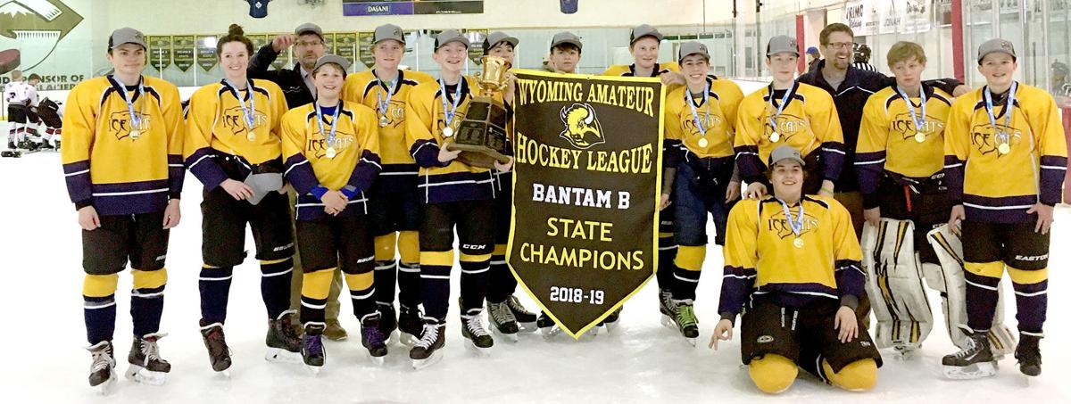 Ice Cats Win State Championship Bantams Show Improvement At Right