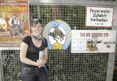Visiting the Cowboy Club in Munich