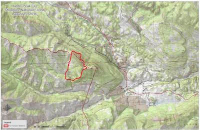 Peak Fire Map.Super Scoopers Return To Battle Hunter Peak Fire Local News
